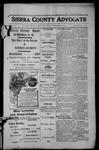 Sierra County Advocate, 1913-11-21 by J.E. Curren