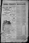 Sierra County Advocate, 1913-12-12 by J.E. Curren
