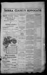 Sierra County Advocate, 1913-12-19 by J.E. Curren