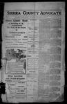 Sierra County Advocate, 1913-12-26 by J.E. Curren
