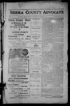 Sierra County Advocate, 1914-01-02 by J.E. Curren