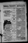 Sierra County Advocate, 1914-01-09 by J.E. Curren