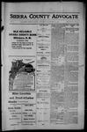 Sierra County Advocate, 1914-01-16 by J.E. Curren