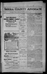 Sierra County Advocate, 1914-01-30 by J.E. Curren