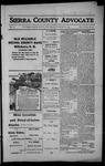 Sierra County Advocate, 1914-02-06 by J.E. Curren