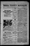 Sierra County Advocate, 1914-05-15 by J.E. Curren