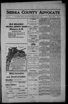Sierra County Advocate, 1914-05-29 by J.E. Curren
