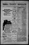 Sierra County Advocate, 1914-06-26 by J.E. Curren