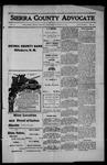 Sierra County Advocate, 1914-07-10 by J.E. Curren