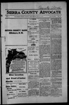 Sierra County Advocate, 1914-07-31 by J.E. Curren