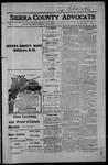 Sierra County Advocate, 1914-08-07 by J.E. Curren
