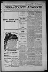 Sierra County Advocate, 1914-09-04 by J.E. Curren
