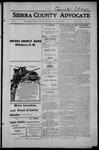 Sierra County Advocate, 1914-09-11 by J.E. Curren