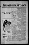 Sierra County Advocate, 1914-09-18 by J.E. Curren