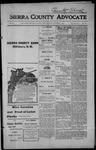 Sierra County Advocate, 1914-10-02 by J.E. Curren