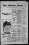 Sierra County Advocate, 1914-10-23 by J.E. Curren