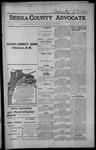 Sierra County Advocate, 1914-11-06 by J.E. Curren