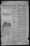 Sierra County Advocate, 1914-11-13 by J.E. Curren