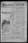 Sierra County Advocate, 1914-11-27 by J.E. Curren
