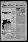 Sierra County Advocate, 1914-12-11 by J.E. Curren