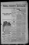 Sierra County Advocate, 1915-01-01 by J.E. Curren