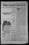 Sierra County Advocate, 1915-01-08 by J.E. Curren