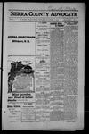 Sierra County Advocate, 1915-01-15 by J.E. Curren