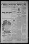Sierra County Advocate, 1915-01-22 by J.E. Curren