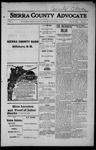 Sierra County Advocate, 1915-03-05 by J.E. Curren