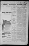 Sierra County Advocate, 1915-03-12 by J.E. Curren