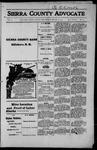 Sierra County Advocate, 1915-03-19 by J.E. Curren