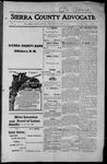 Sierra County Advocate, 1915-04-09 by J.E. Curren