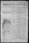 Sierra County Advocate, 1915-04-16 by J.E. Curren