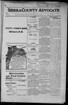Sierra County Advocate, 1915-05-07 by J.E. Curren