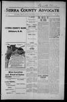 Sierra County Advocate, 1915-06-11 by J.E. Curren