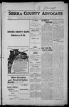 Sierra County Advocate, 1915-06-18 by J.E. Curren