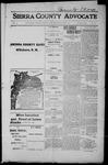 Sierra County Advocate, 1915-06-25 by J.E. Curren
