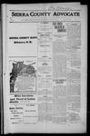 Sierra County Advocate, 1915-07-02 by J.E. Curren