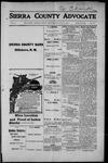 Sierra County Advocate, 1915-07-09 by J.E. Curren