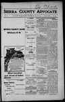 Sierra County Advocate, 1915-07-16 by J.E. Curren
