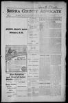 Sierra County Advocate, 1915-08-20 by J.E. Curren