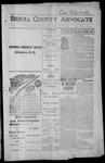 Sierra County Advocate, 1915-08-27 by J.E. Curren