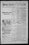 Sierra County Advocate, 1915-09-03 by J.E. Curren