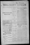Sierra County Advocate, 1915-09-10 by J.E. Curren
