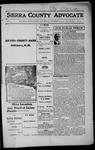 Sierra County Advocate, 1915-09-24 by J.E. Curren