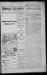 Sierra County Advocate, 1915-10-01 by J.E. Curren