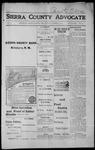 Sierra County Advocate, 1915-10-08 by J.E. Curren