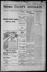 Sierra County Advocate, 1915-10-15 by J.E. Curren