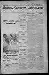 Sierra County Advocate, 1915-10-22 by J.E. Curren