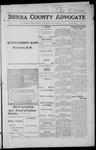 Sierra County Advocate, 1915-11-05 by J.E. Curren